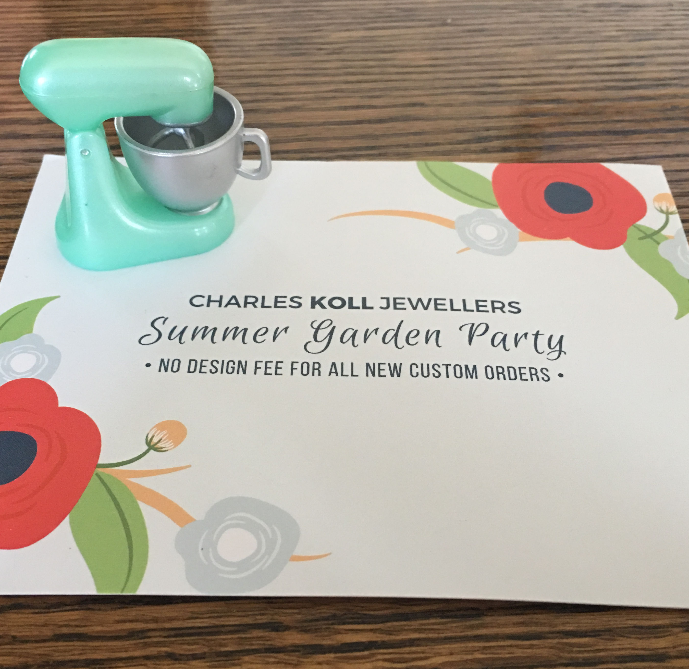 Charles Koll Jewelers Summer Garden Party