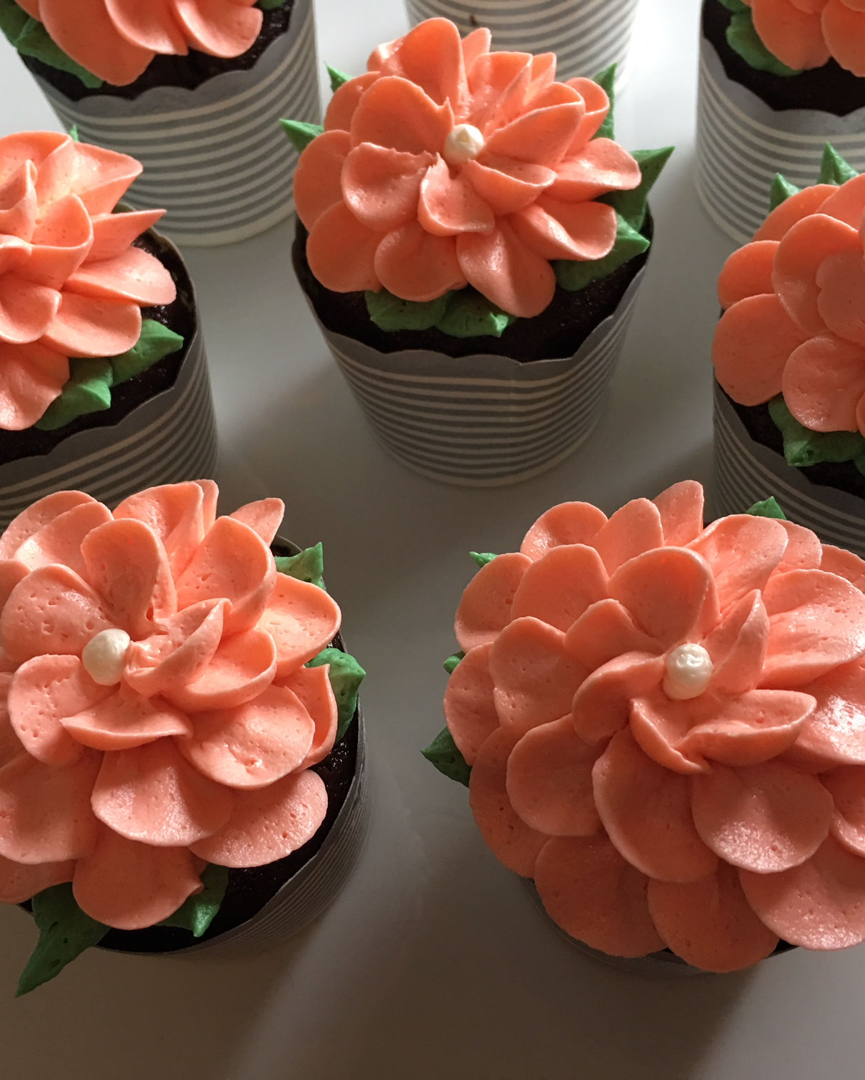 Elegant cakes, cupcakes and cookies that don't break the bank. These desserts are fresh baked and hand decorated.